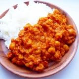 ひよこ豆とココナッツミルクのカレー