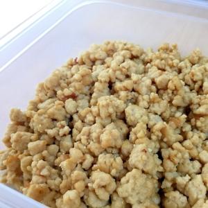 簡単☆粉豆腐の肉そぼろ風