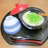 松茸料理のおまけ☆ 残りの松茸ご飯で「朝のおじや」