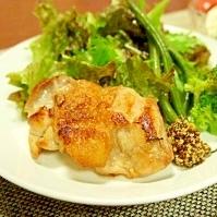 鶏肉のパリパリ焼き