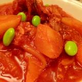 サバ缶とトマトジュースで☆ブイヤベース風煮込み