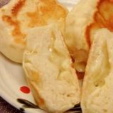 発酵無し★乳製品不使用★フライパンで簡単チーズパン