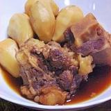 とろとろ 牛テールとサトイモの煮物