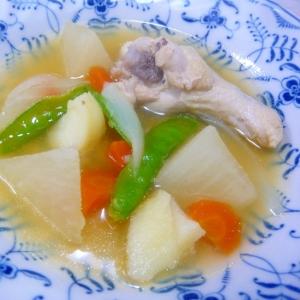 ❤ 鶏手羽元で! ポトフ風スープ ❤