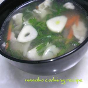 にんにくは西洋の出汁!!♡香草DE減塩スープ♡
