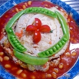 ❤トマトソースで頂く丸ごとキャベツのコンソメ煮❤