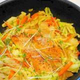 フライパンで手軽に作れる!鮭のちゃんちゃん焼き