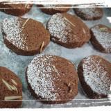 作って冷凍→すぐ焼ける☆アーモンドココアクッキー♪