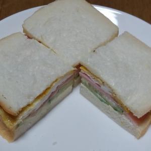 彩りがいいサンドイッチ