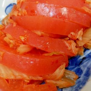 簡単・混ぜるだけのトマトキムチ