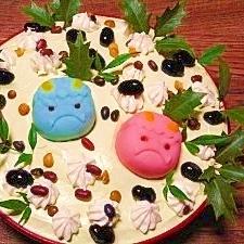 節分☆スコップケーキ