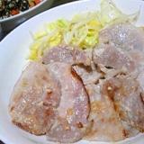 サッパリふっくら塩麹生姜焼き