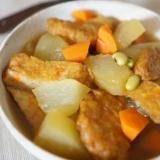 簡単味しみ〜♡冬瓜とさつま揚げの煮物