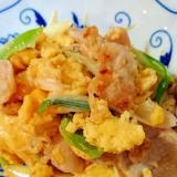 卵でかさまし★豚肉と卵の炒め物