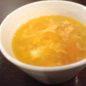 トマトのコンソメたまごスープ