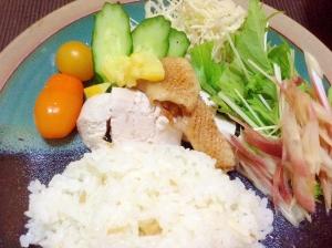 疲労回復‼︎鶏胸肉のカオマンガイ