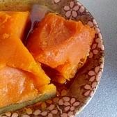 めんつゆ☆かぼちゃの煮つけ