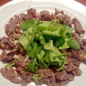 牛しゃぶの前菜☆バルサミコ酢×パルメザンチーズ和え