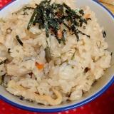 炊飯器de☆わらびの炊き込みご飯