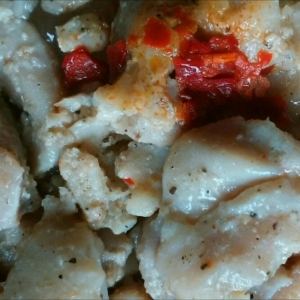 鶏モモ肉のガーリック炒め