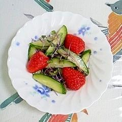 レッドキャベツの簡単サラダ