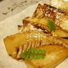 竹の子のバター醤油焼き