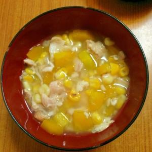 黄色いお味噌汁