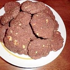 低糖質なキャラメル・ショコラ・クッキー