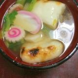 春のお雑煮☆菜の花入り!