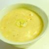 餅と卵のスープ