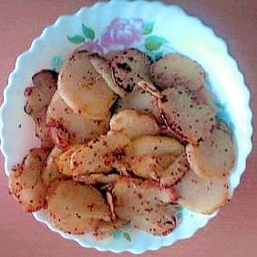 ジャガイモのツブツブマスタード炒め