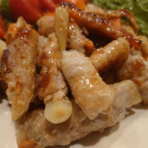 ジャガイモの豚肉巻