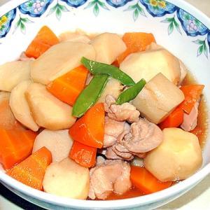 体も温まる!里芋と鶏肉の煮っ転がし♪