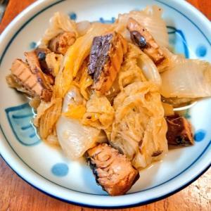 サバ缶で白菜の味噌煮☆無水で作れる♪