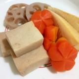 高野豆腐♪蓮根♪筍♪人参の煮しめ♪覚書