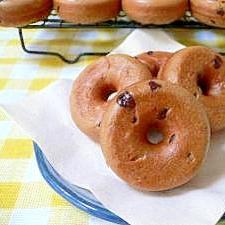 コーヒーチョコ焼きドーナツ
