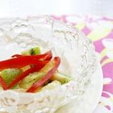 キウイとグレープフルーツのサラダ
