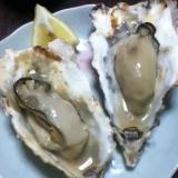 岩牡蠣の白ワイン焼き