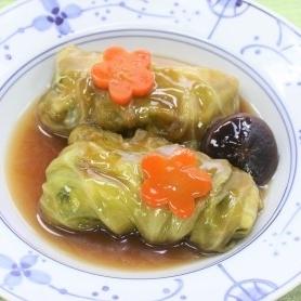 鶏肉&豆腐のヘルシーロールキャベツ