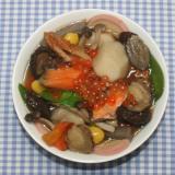 ケンミンSHOW☆塩鮭いくらと乾燥野菜でのっぺ汁
