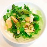ズッキーニとゆで卵とレタスの☆夏サラダ