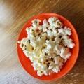 オリーブオイルで作るポップコーン