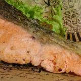 ストウブDE〜秋鮭のレモンペッパーソテー