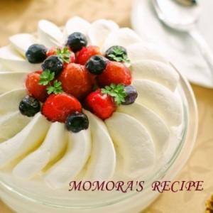「生クリーム」を使ったケーキレシピ