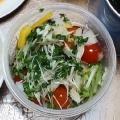 グレープフルーツとスプラウトのサラダ