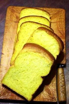幸せの黄色いかぼちゃ食パン^m^*