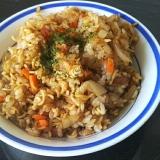 インスタント麺 DE そばめし