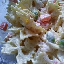 リボンマカロニのマスタードサラダ