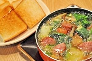 鴨ソーセージの旨味をぜんぶ美味しく食べ尽くす!!