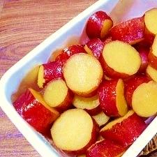 しっとり☆サツマイモの蜜煮